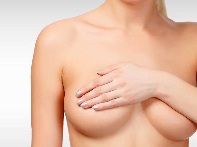Breast Enlargement with silicon